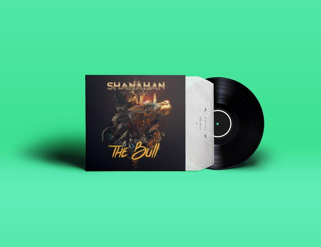 Shanahan – The Bull Album Artwork