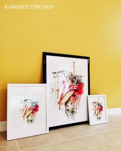 The Unknown Muse Print - Framed Options