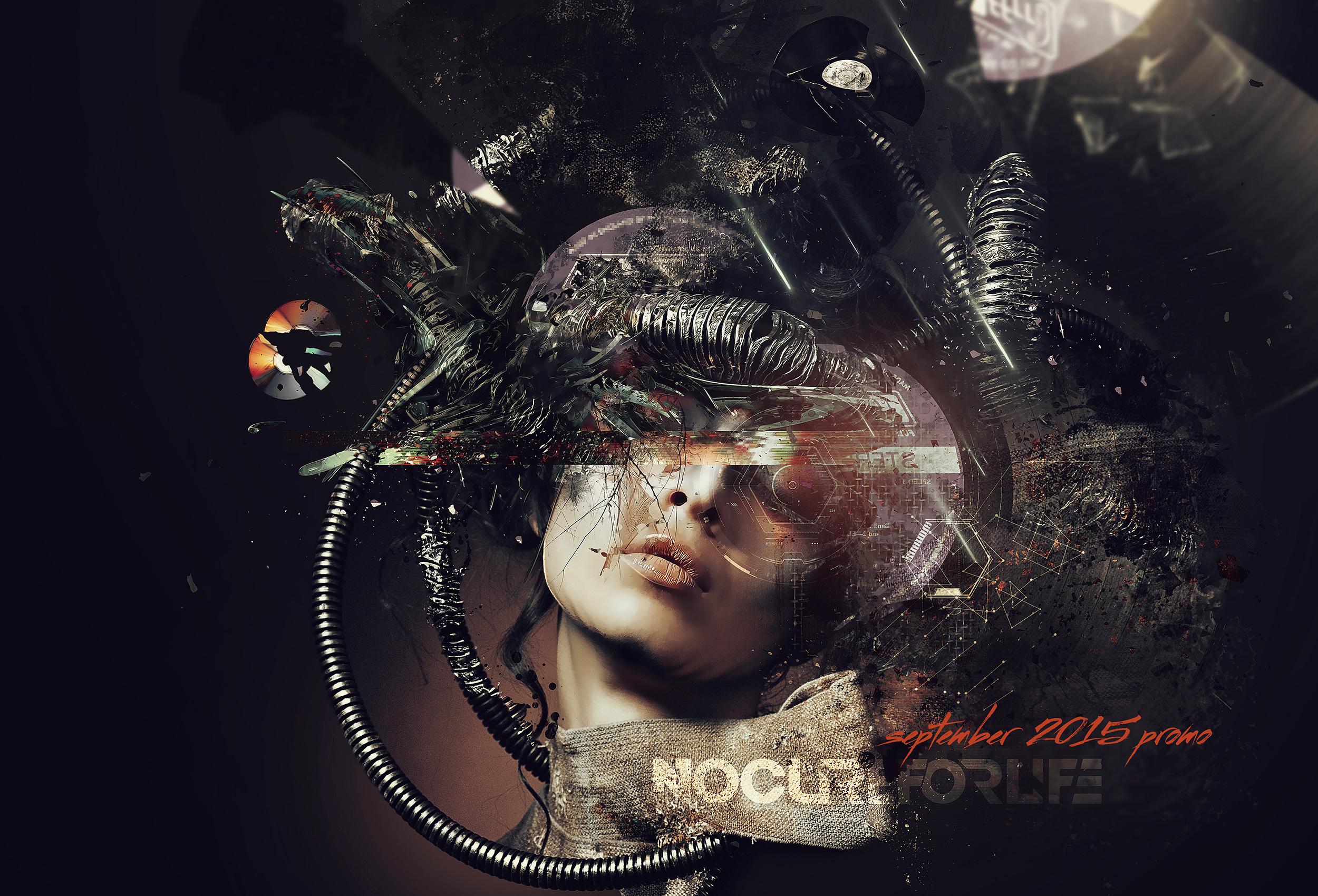 NCFL No Cure For Life Promo Mix Artwork Design
