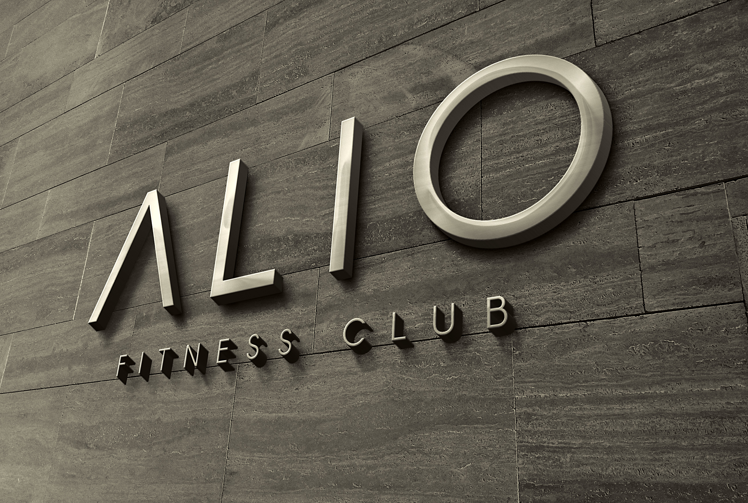 ALIO Fitness Club Logo Design