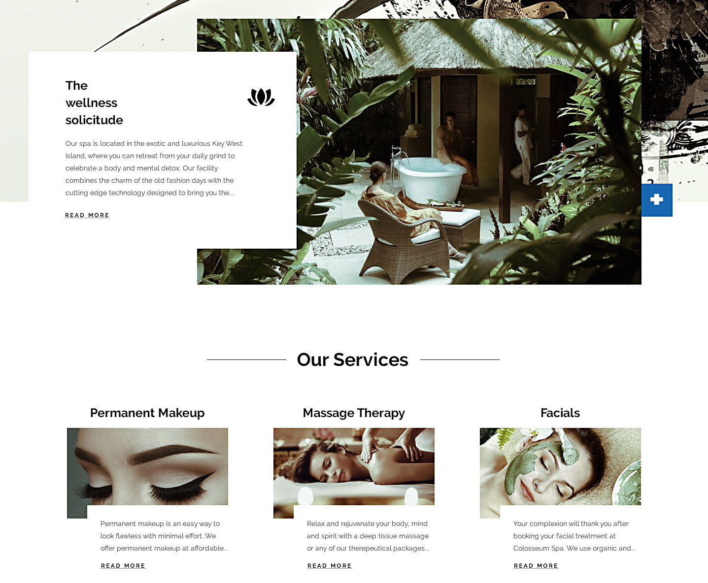 colosseum services design branding detail