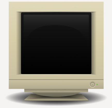 old school computer