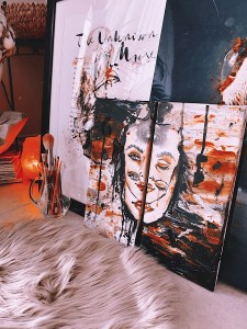 Lonely diptych canvas KLANGWELT