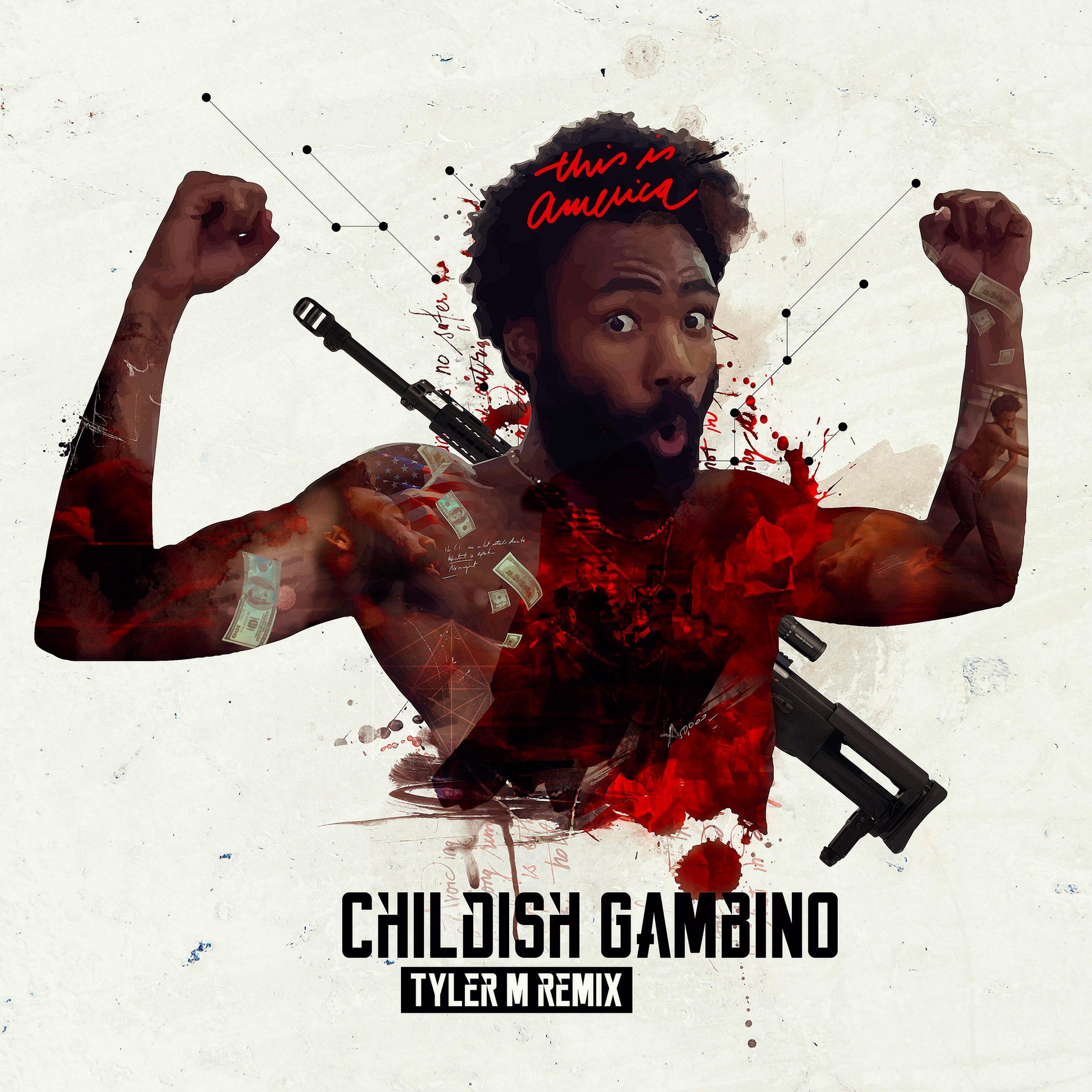Childish Gambino This is America Remix album artwork cover