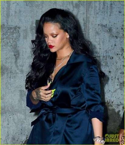 Rihanna kapet me të dashurin në një darkë romantike