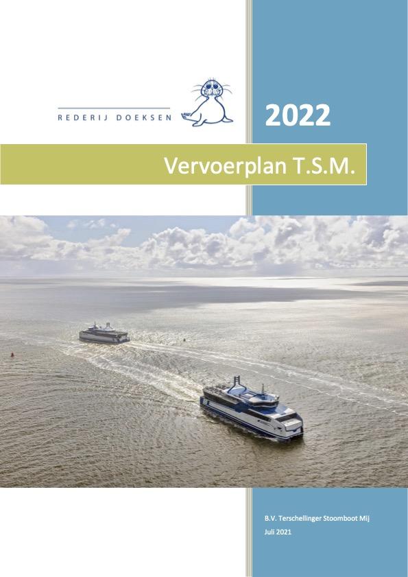 RvA en het Vervoersplan 2022 Rederij Doeksen