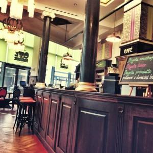 Interiér Café Amandine