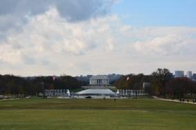 Blick zum Lincoln Memorial
