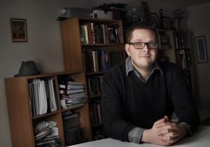 Jóhann Ævar Grímsson handritshöfnur verður þróunarstjóri leikins efnis hjá Sagafilm.