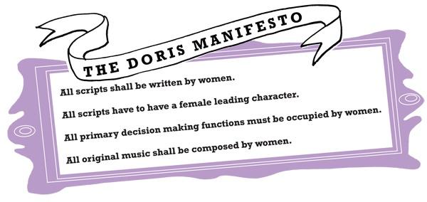 Stefnuyfirlýsing Doris Film.