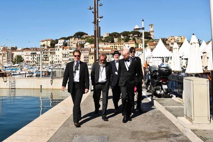 Hrútagengið í Cannes á dögunum.
