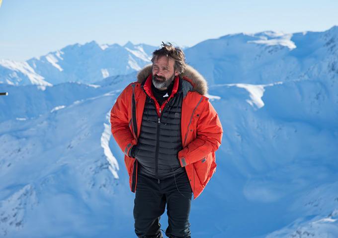 Baltasar við tökur á Everest.