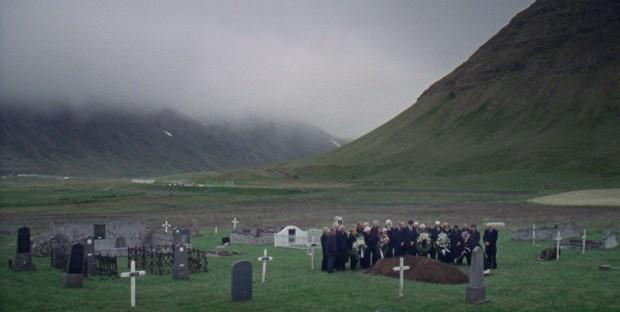 Þrestir still jarðarför