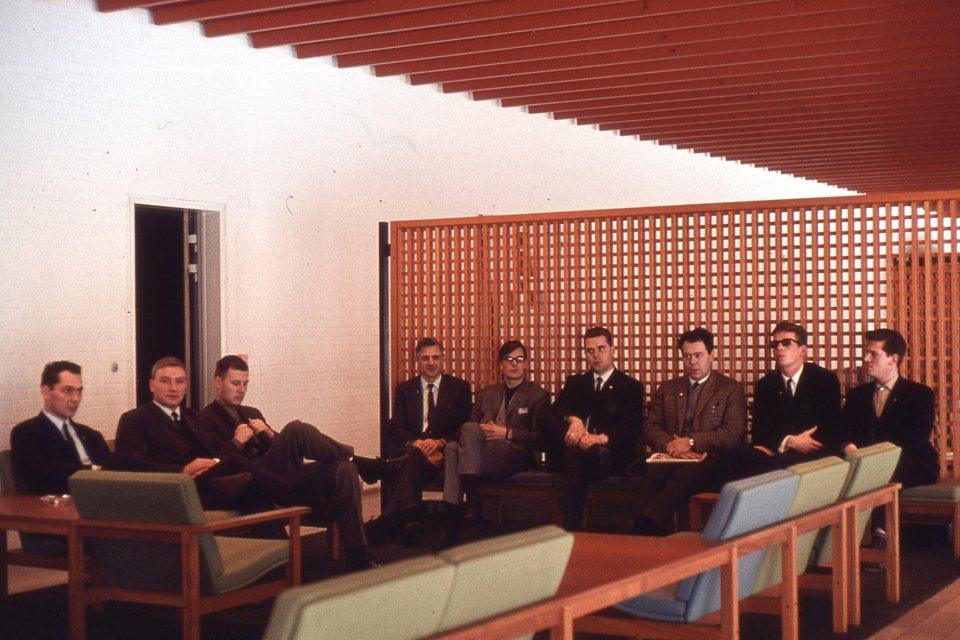 Sverrir Kr. - hópurinn hjá DR 1965