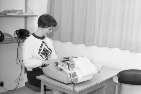 1966-68: Guðrún, eiginkona Klemens Jónssonar, ritari á aðalskrifstofu.
