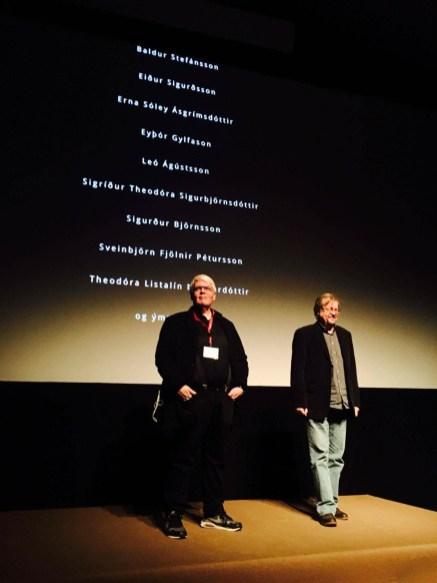 Ásgrímur Sverrisson og Stefan Uhrik spyrill, Mannheim.