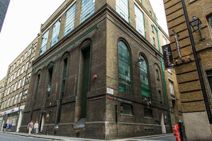 Bygging London Film School í Covent Garden.