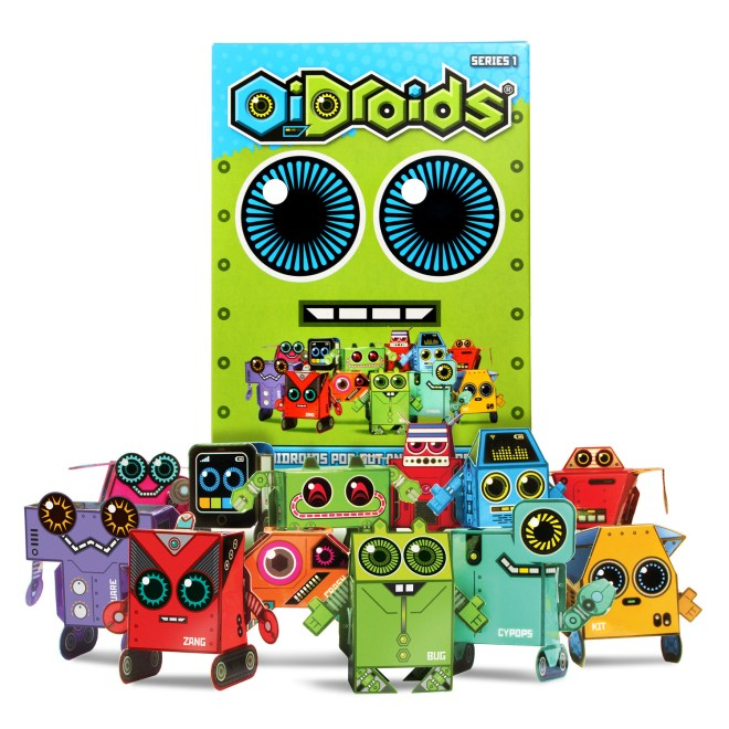 OiDroids Series 1 - now the enemy! Destroy all OiDroids!