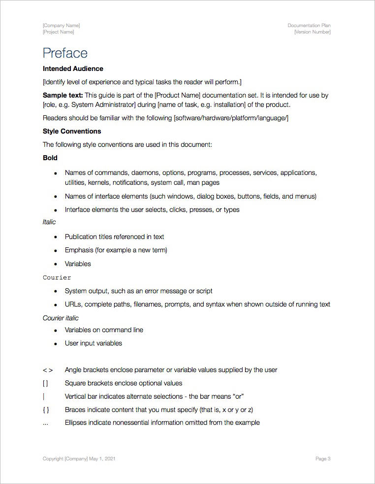Documentation-Plan-Template-Apple-iWork-Pages-preface
