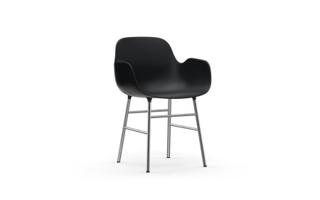 Form chair with arms chrome normann copenhagen