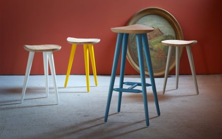 lechuck wooden stool miniforms
