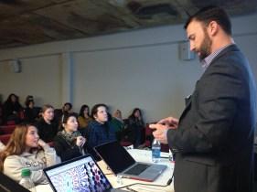 Matt Rodgers at Adobe Day at SCAD Savannah