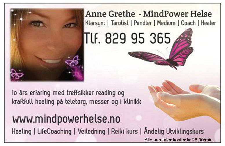 Treffsikker reading med healing