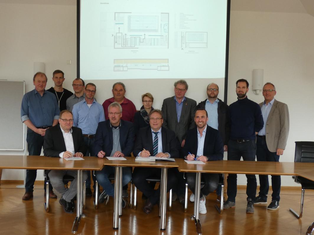 Geht in die Planung: Der Hallenbad-Bau in Ankum