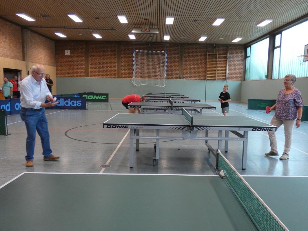 Jeden Mittwoch: Hobby-Tischtennis für alle