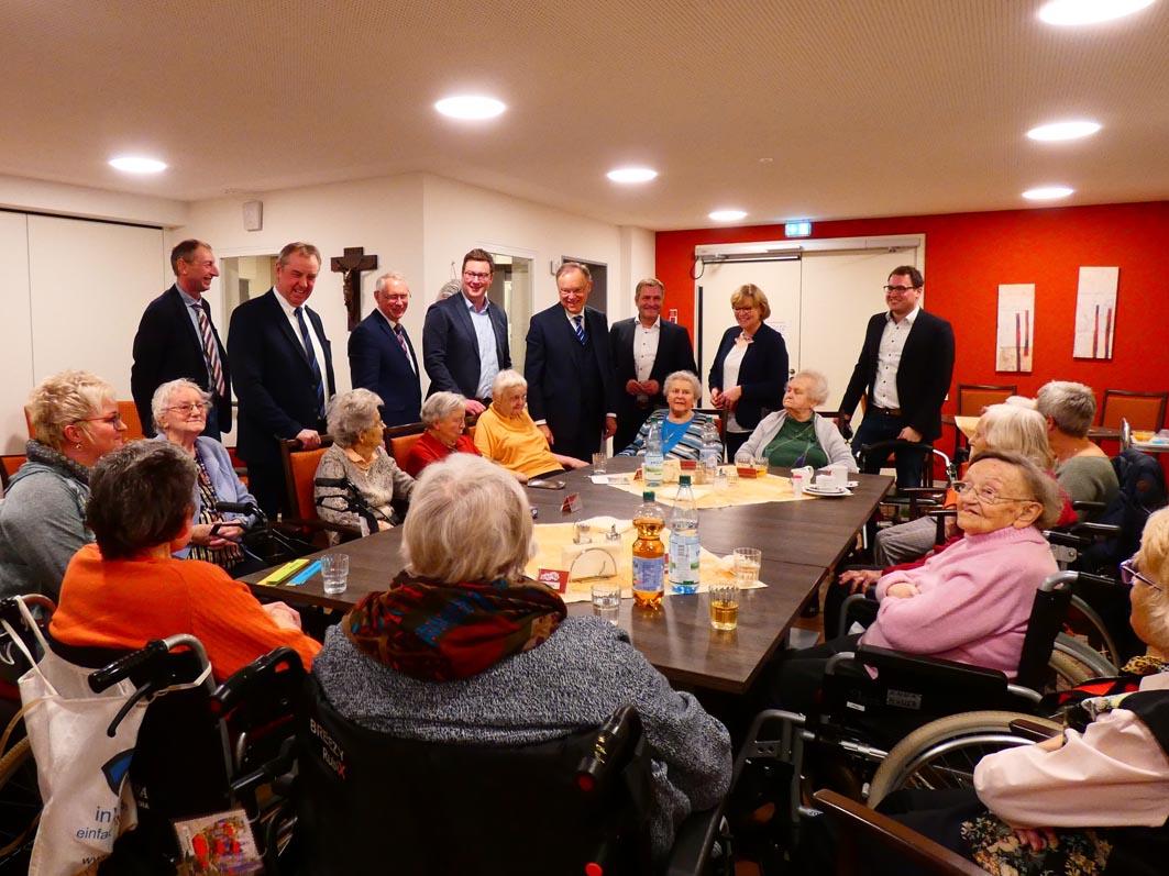 Pflege, Ärzte & mehr: Mit Ministerpräsident Weil