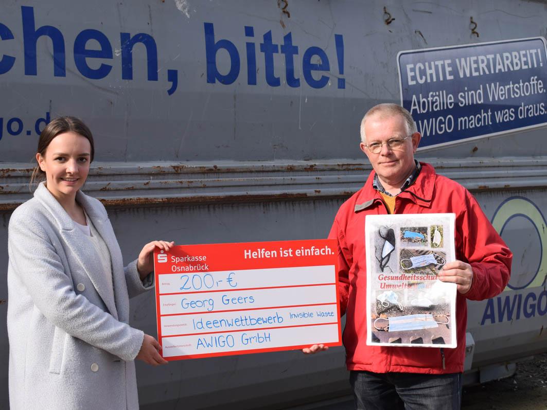 (Un-)sichtbarer Müll: Preis für Georg Geers