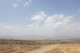 Landscape view at Suswa, Kenya.