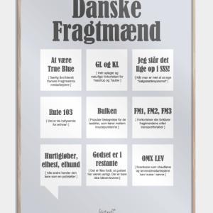 Danske Fragtmænd plakat