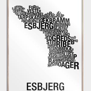 Esbjerg plakat - By plakat