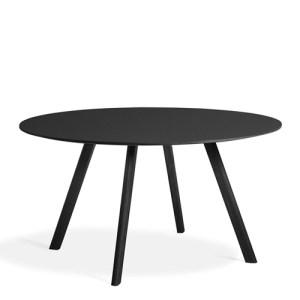 HAY CPH25 Table - Sort Linolium - Sort