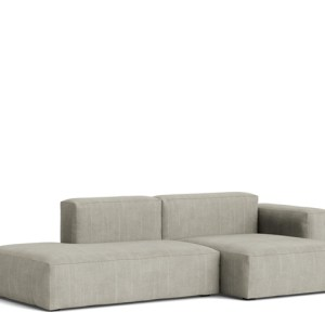 HAY Mags Soft Sofa - Low Arm - 2.5P. Combi 3 - Random Fade Beige