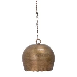 BLOOMINGVILLE Nilas pendel loftslampe, rund - messingfarvet metal (Ø 50)