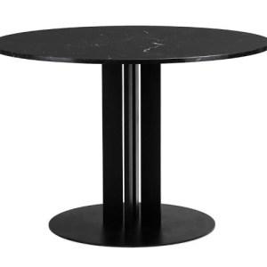 Normann Copenhagen Scala Bord Ø110 Black marmor