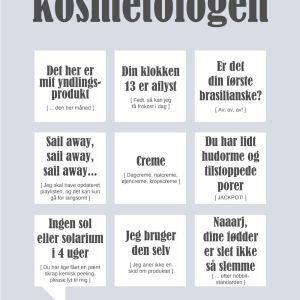 Kosmetologen plakat