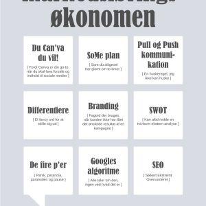 Markedsføringsøkonomen Plakat