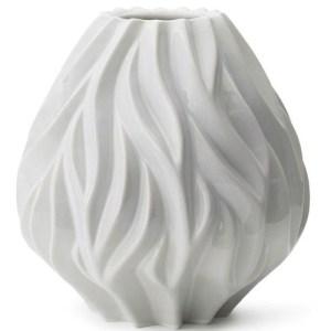 Morsø Flame vase - hvid - stor