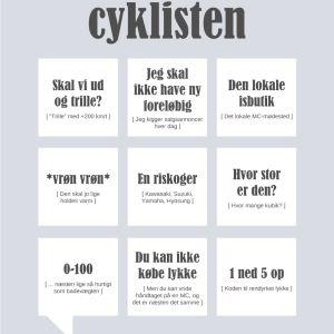 Motorcyklisten Plakat