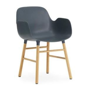Normann Copenhagen Form armchair Blue - Eg