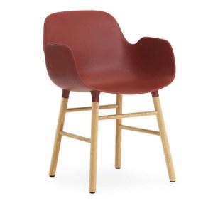 Normann Copenhagen Form armchair Red - Eg