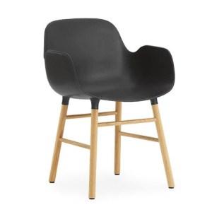 Normann Copenhagen Form armchair Sort - Eg
