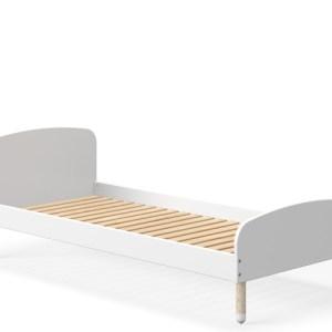 Flexa Dots seng - hvid - 200x90 cm