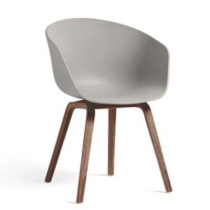Hay About A Chair (AAC22) - Grå - Valnød