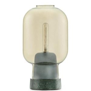 Normann Copenhagen Amp bordlampe - guld/grøn