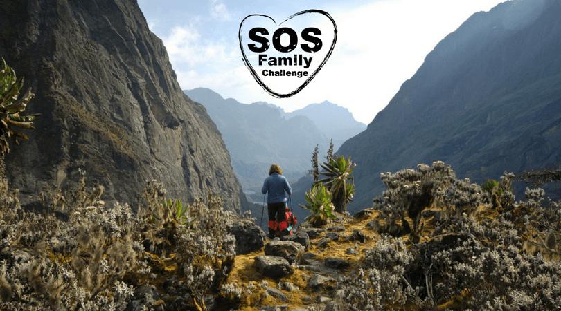 Doe mee met de SOS Family Challenge in Oeganda
