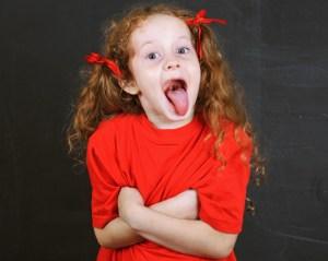 Wat doe je als een kind een grote mond heeft?
